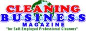 cleaning business magazine logo