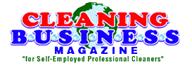 cleaning business magazine logo